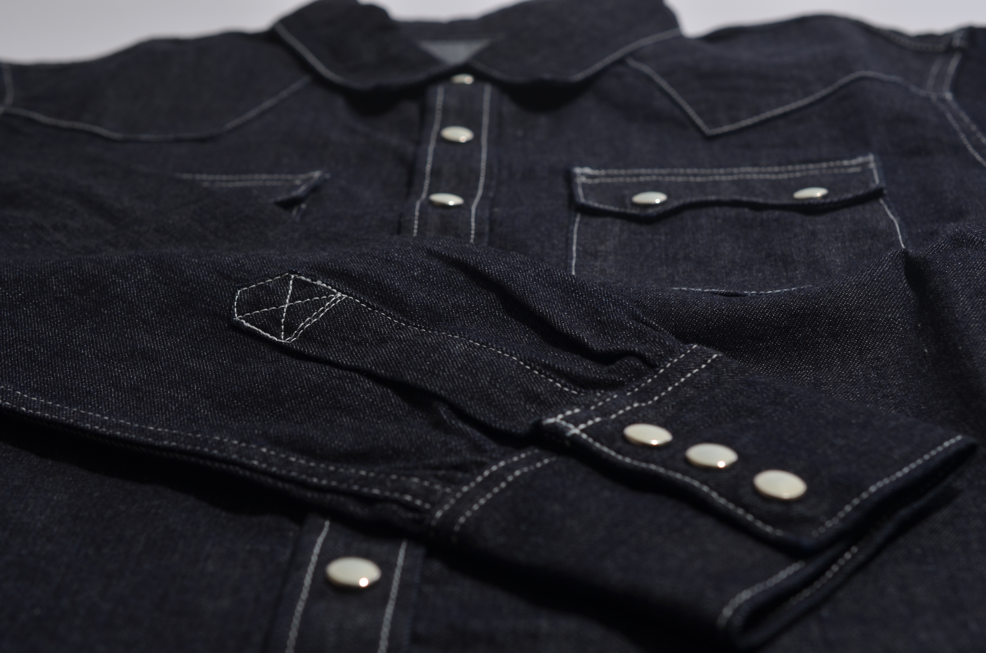 toast_denim shirt